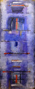 Avambaé - acrílica sobre tela - 1998 - 170 x 60 cm