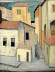 Casario (1957) - óleo sobre tela - Ass.canto inferior esquerdo - 65 x 49 cm - INDISPONÍVEL