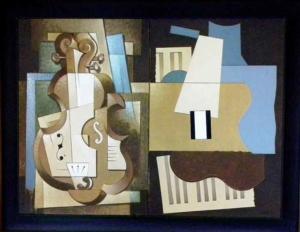 Duetto I e II - pintura a óleo, 1992 - 64 x 81 cm - INDISPONÍVEL
