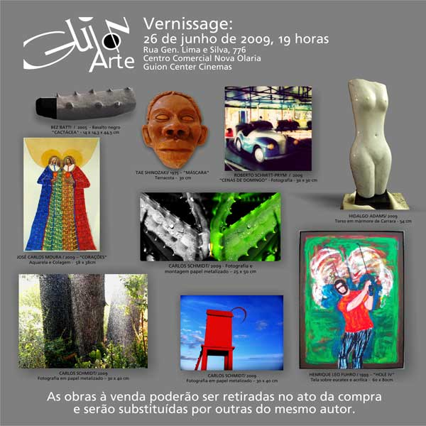 Guion Arte - Exposições - Catálogo 1