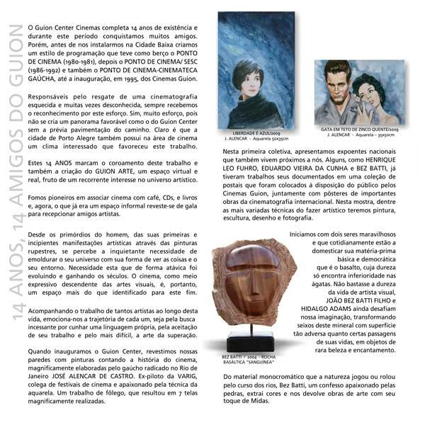 Guion Arte - Exposições - Catálogo 2