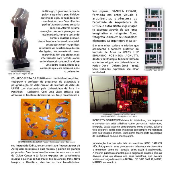 Guion Arte - Exposições - Catálogo 3
