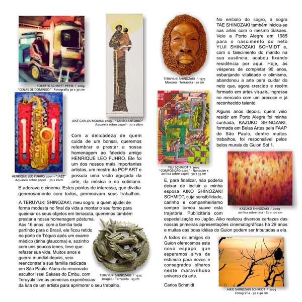Guion Arte - Exposições - Catálogo 4