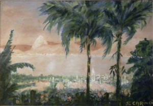 Rio de Janeiro - Guache - 14 x 21 cm