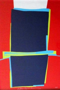 Sem título (1983) - gravura PA - 50 x 70 cm - Ass: centro inferior