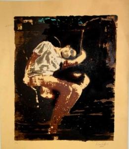 Sem título - 2005 - Serigrafia - Prova do Artista - 42 x 36 cm.