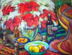 Tarde oriental - óleo sobre tela, 2002 - 65 x 80 cm