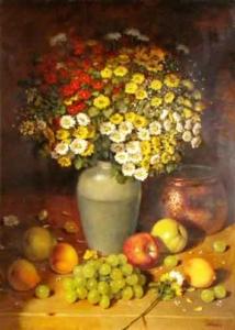 Vaso de flores - Eucatex - 69 cm x 49 cm